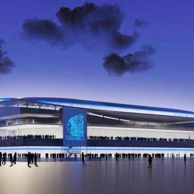 """Ghelamco Arena – Gent """"2014"""""""
