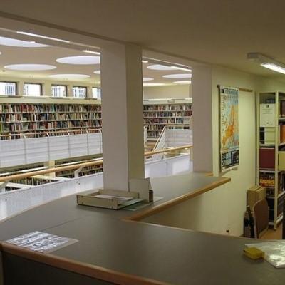 """Uitbreiding Stedelijke Bibliotheek """"1996"""""""